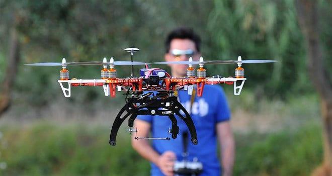 Corsi professionali di pilotaggio droni