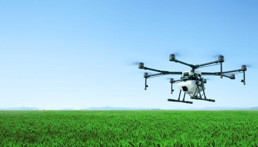 L'innovativo drone agricolo Agras Mg-1S
