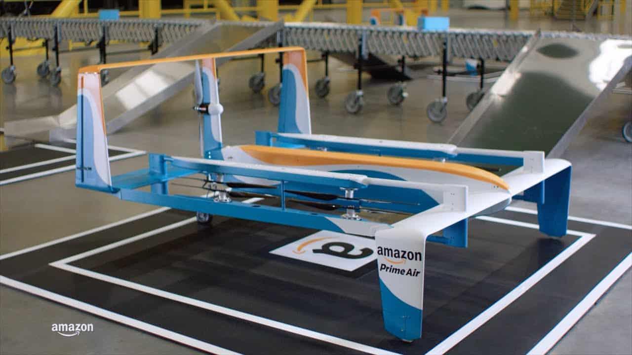 Amazon e le consegne con droni in trenta minuti
