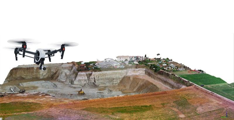 Corsi fotogrammetria con droni