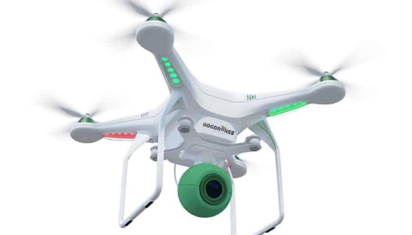 Dogdrones il drone che raccoglie le cacche dei cani