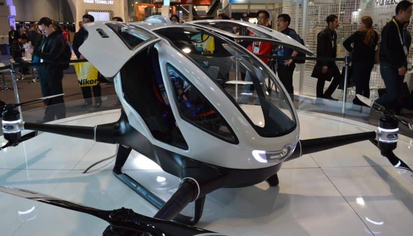 Droni taxi a Dubai prime sperimentazioni