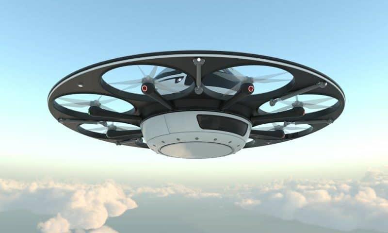Il drone disco volante