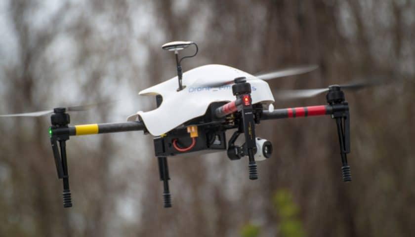 Il drone scova amianto in coperture sospette