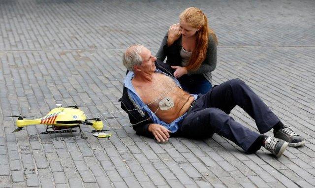 I droni salvano la vita una volta alla settimana