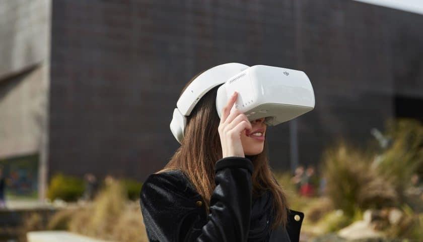 DJI Goggles il visore FPV per droni