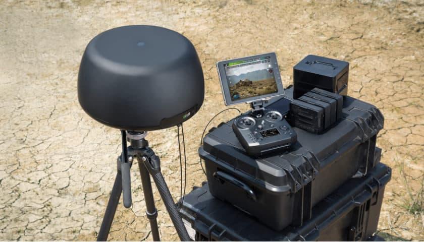 Dji Tracktenna antenna a puntamento automatico per droni