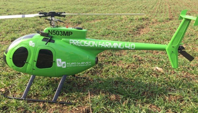Droni agricoli contro la Drosophila