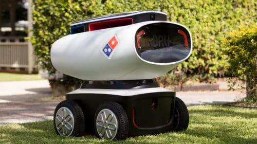 I droni che consegnano le pizze a domicilio