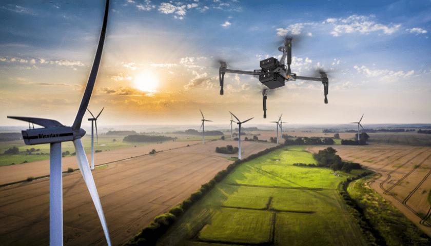 Droni eolici per la produzione di energia