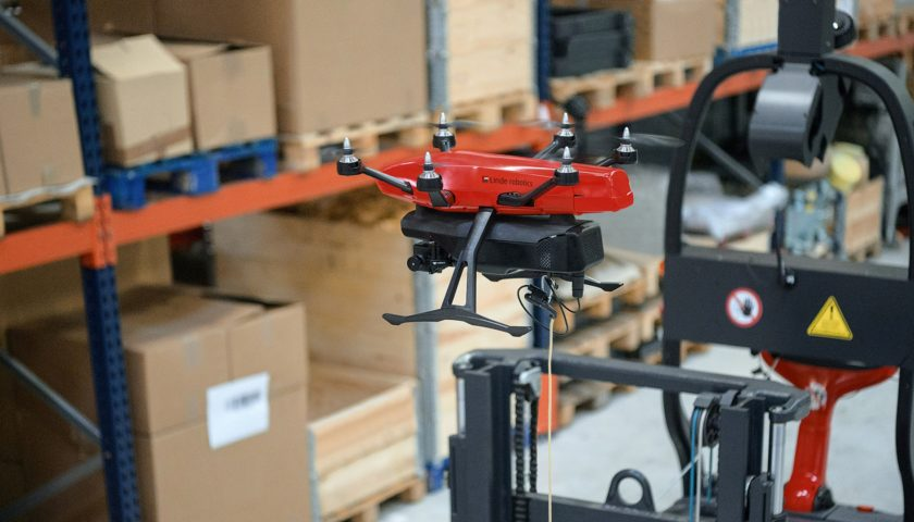 Il drone magazziniere Flybox