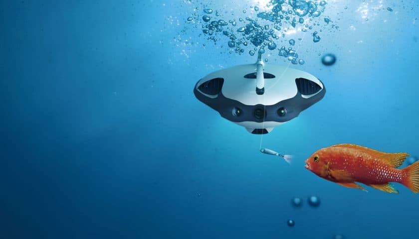 Il drone subacqueo per la pesca PowerRay