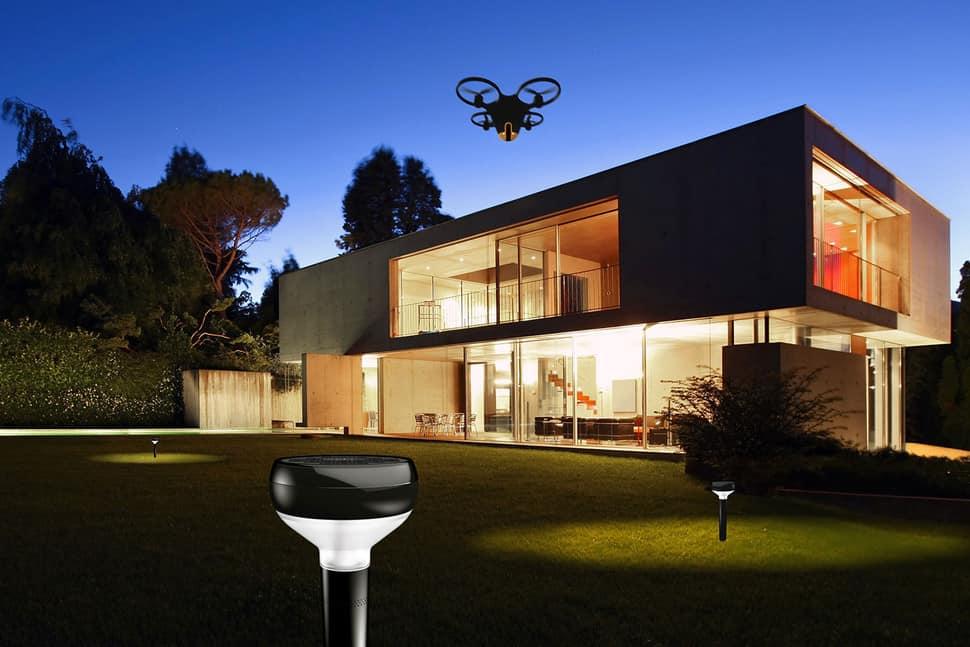 Drone per la sorveglianza e la sicurezza, drone sicurezza,
