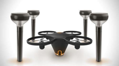 Il drone per la sorveglianza e la sicurezza