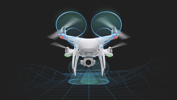 Droni Dji ed il rilevamento di ostacoli