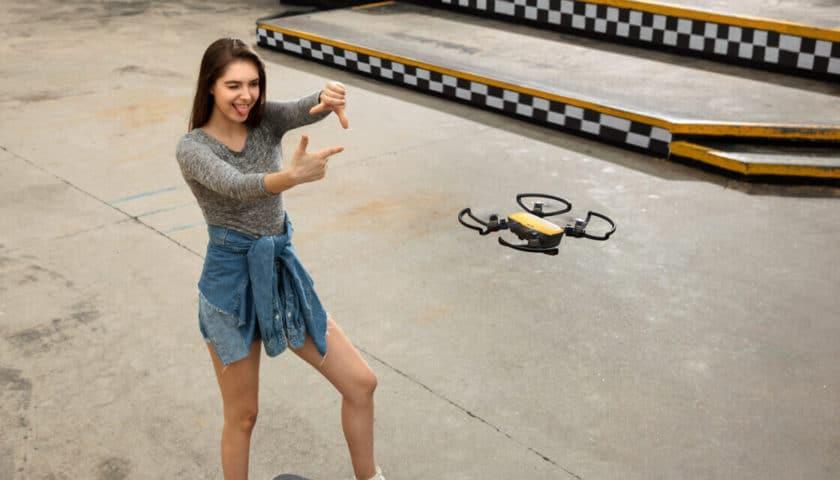 DJI presenta Spark, il drone dalle dimensioni contenutissime