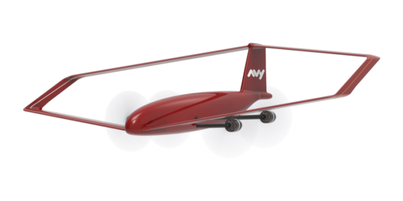 Il drone di salvataggio Avy One