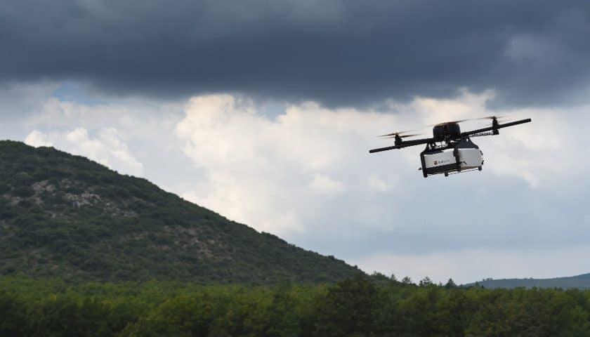 In Giappone droni per le spedizioni nel 2020