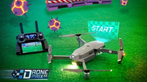 App DronePrix AR realtà aumentata per droni Dji