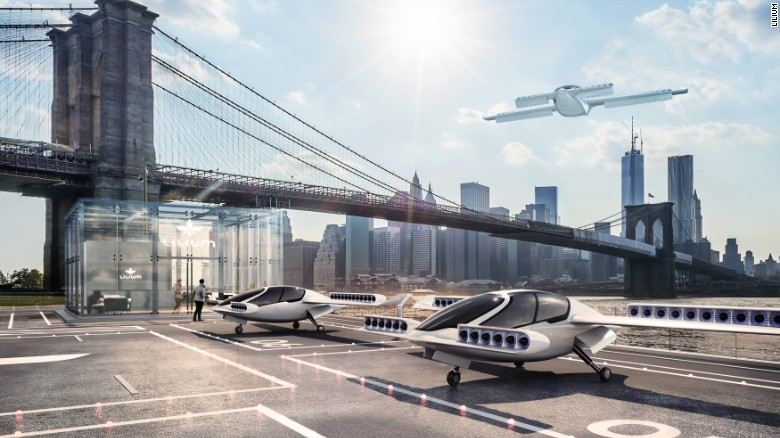 L'innovativo e rivoluzionario Drone Taxi Lilium