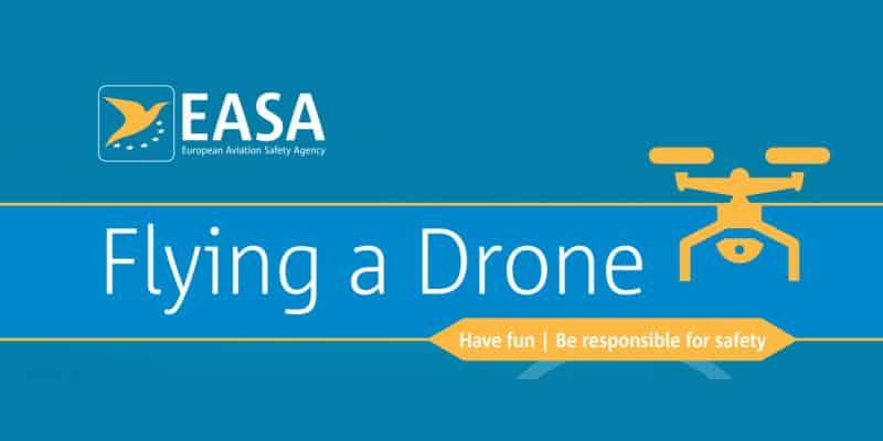 Regolamento europeo sui droni Easa