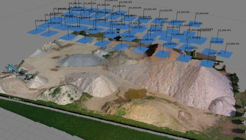 Workshop fotogrammetria aerea con droni