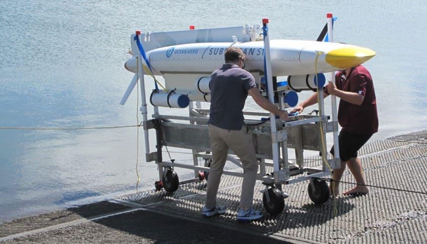 Il drone marino Submaran S10 di Ocean Aero