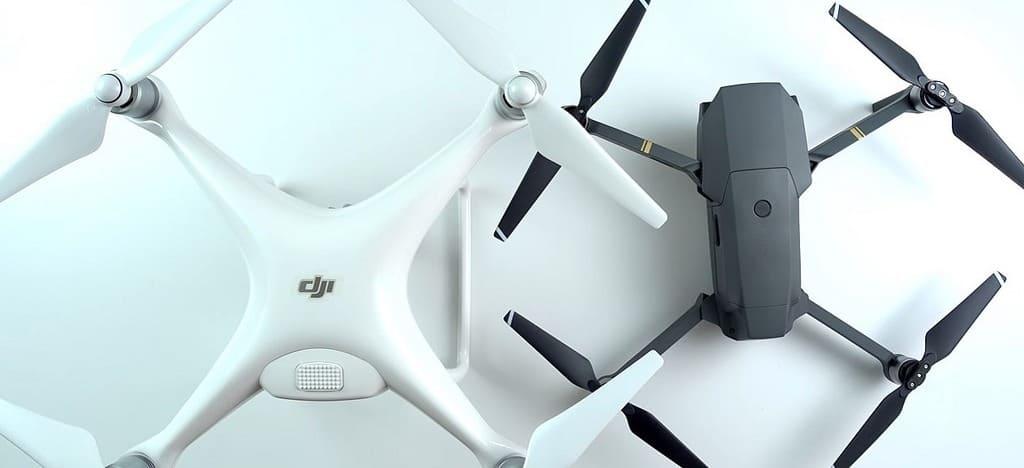 aggiornare i droni dji phantom 4 e mavic pro,
