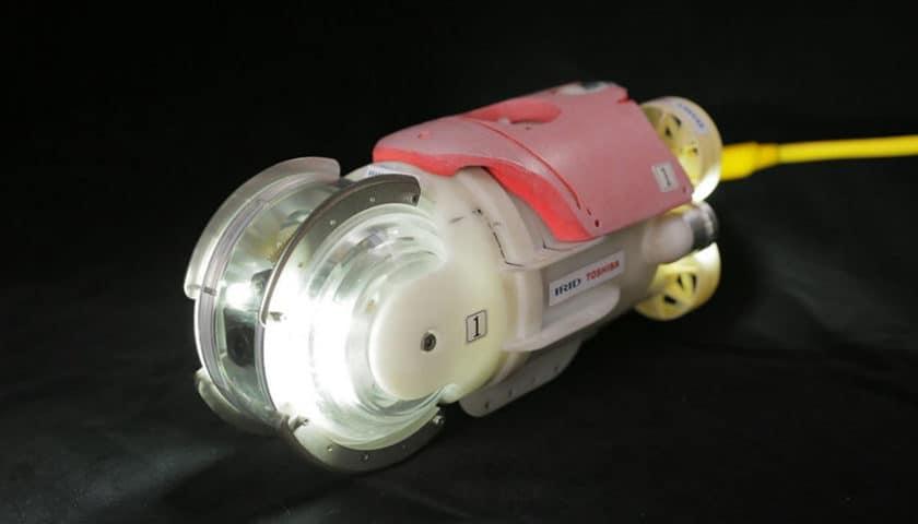 Il drone little sunfish che misura la radioattività