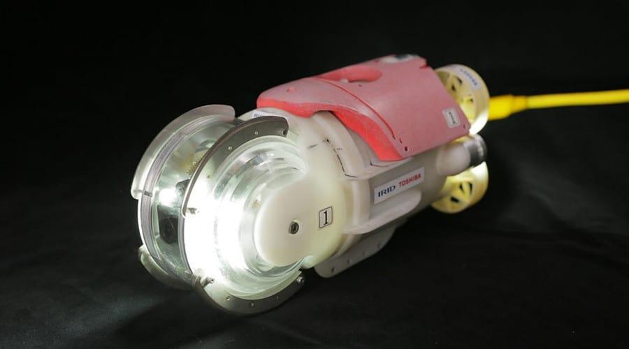 drone little sunfish, little sunfish, drone Fukushima Daiichi,