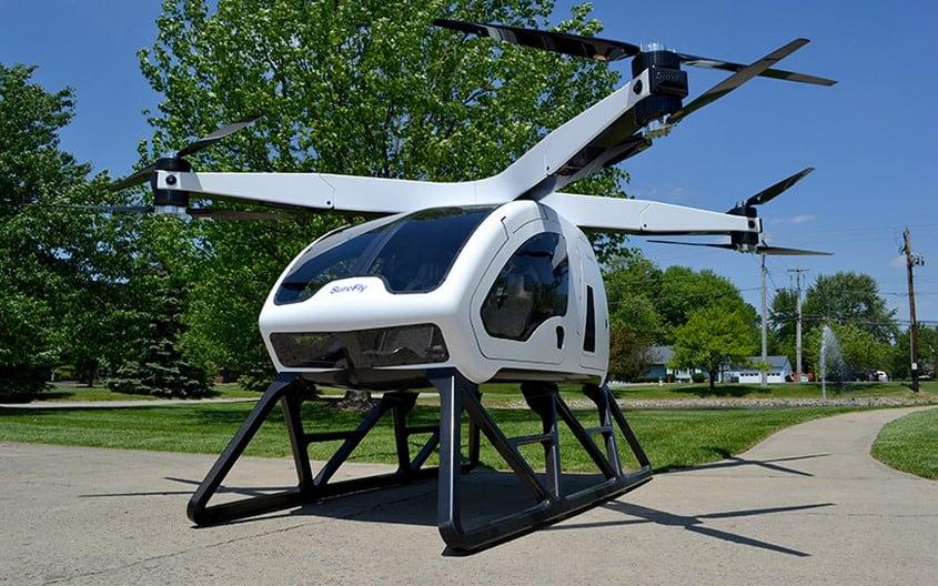 drone surefly, drone surefly per il trasporto di persone, drone per il trasporto di persone,