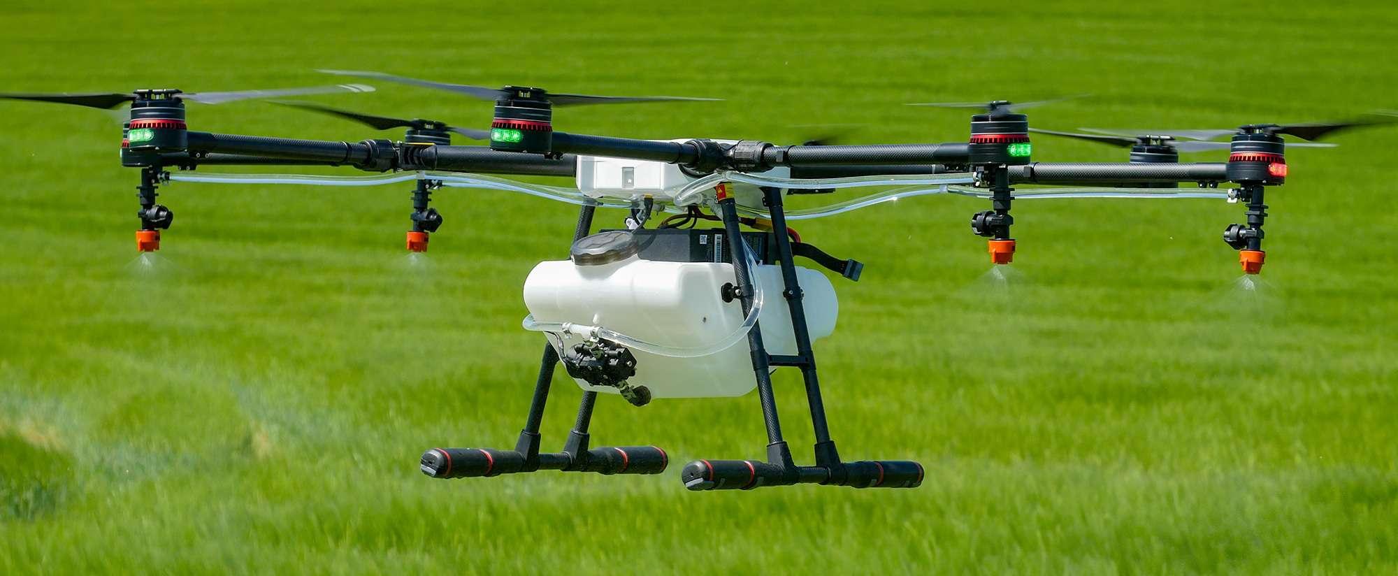 droni agricoli, agricoltura di precisione con droni,