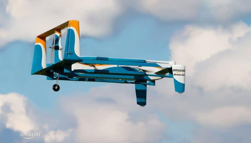 Consegne con droni, Amazon brevetta etichetta di spedizione