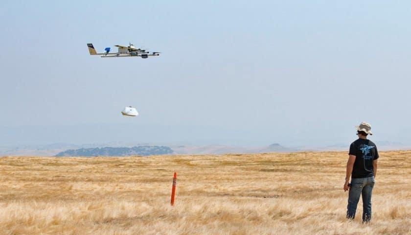 Project Wing per il controllo del traffico aereo droni
