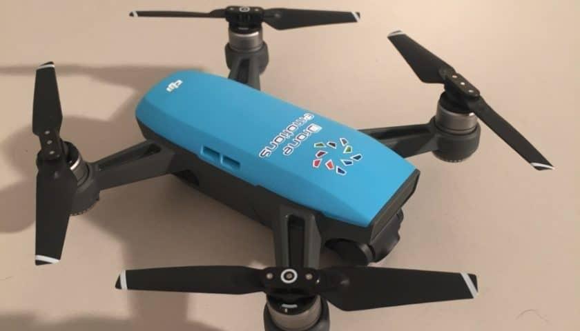 Kit alleggerimento 300 grammi drone Dji Spark