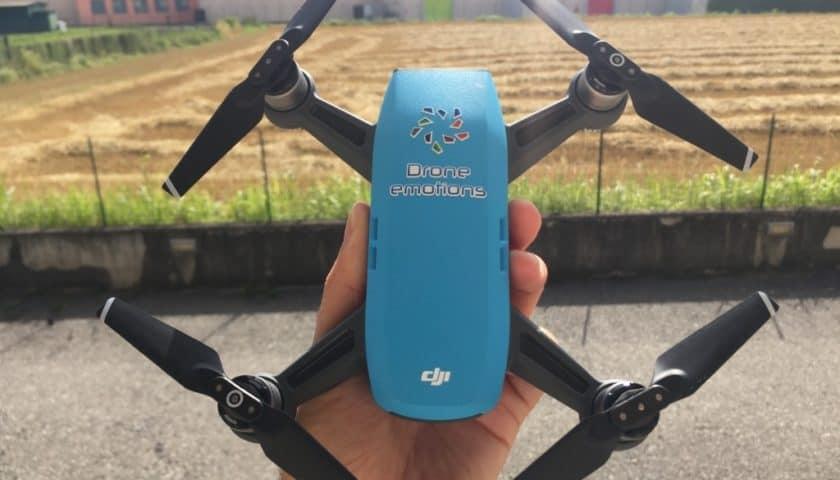 Pilotare con i gesti delle mani il drone Dji Spark