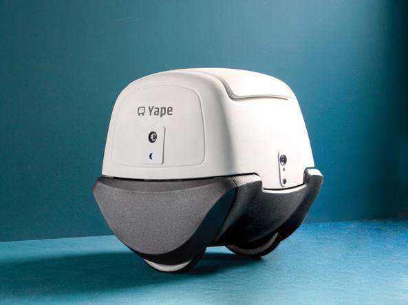 Il drone Yape che effettua consegne