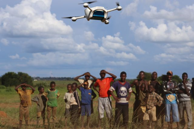 In Malawi corridoi aerei per i droni umanitari Unicef