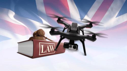Normativa sui droni in Inghilterra