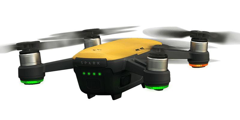 Come pilotare con lo smartphone il drone Dji Spark