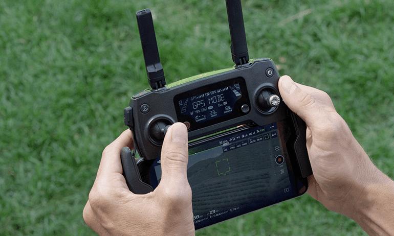 Come calibrare il radiocomando del drone Dji Mavic Pro