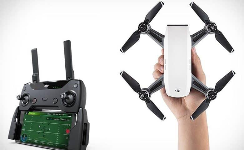 Come collegare il radiocomando del drone Dji Spark