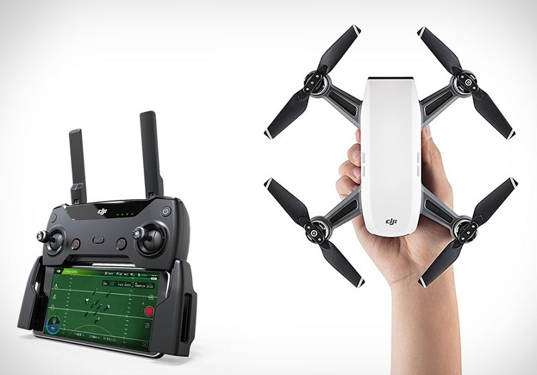 collegare il radiocomando del drone Dji Spark, dji spark,