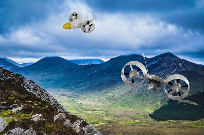 Sky Hopper il drone cargo inglese, drone sky hopper, sky hopper,