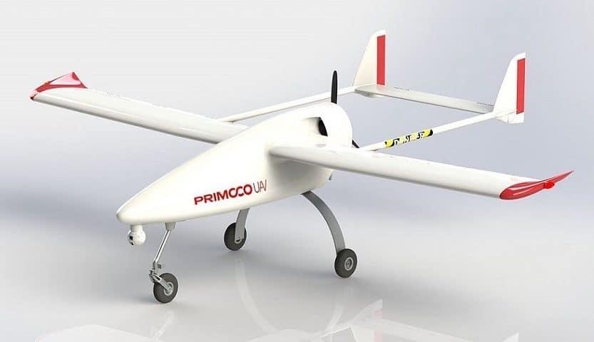 Droni con motore a scoppio Primoco UAV