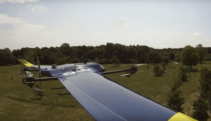 Drone per ispezionare linee elettriche