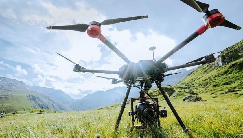 Droni ricerca dispersi in Svizzera