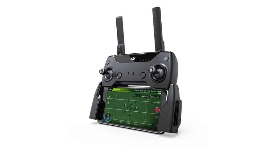 radiocomando del drone Dji Spark