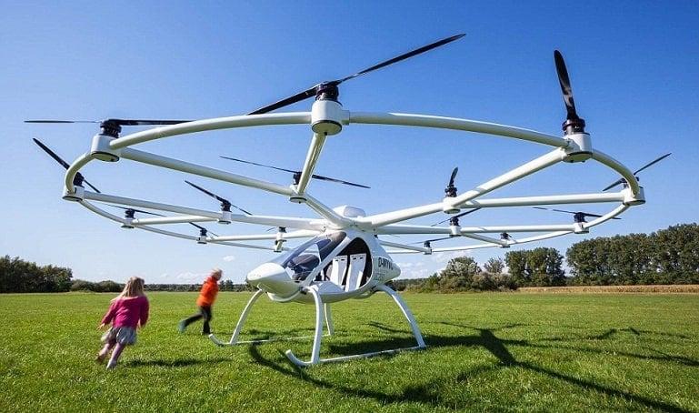 Drone per trasporto di persone Volocopter