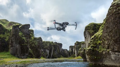 Pilotare con lo smartphone il drone Dji Mavic Pro